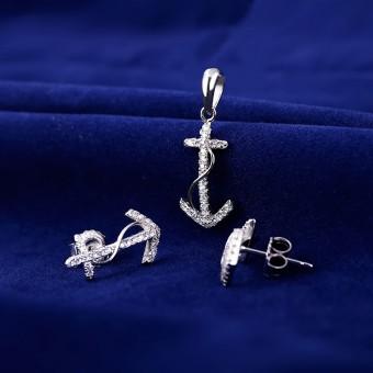 Bộ trang sức bạc Janna Love