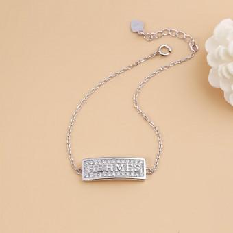 Lắc tay bạc Hermes