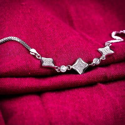 Lắc tay bạc Tiffany Love