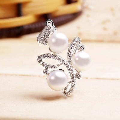 Mặt dây chuyền bạc Expensive Pearls