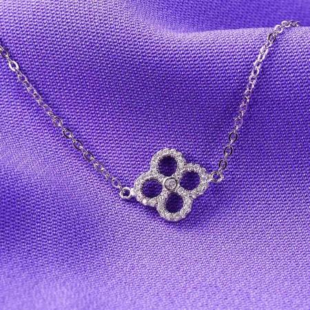 Lắc tay bạc Sophia Flower