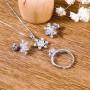 Bộ trang sức bạc Happy Love      2