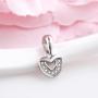 Bộ trang sức bạc Shine Heart 4