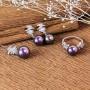 Bộ trang sức bạc Tiara Pearl 2