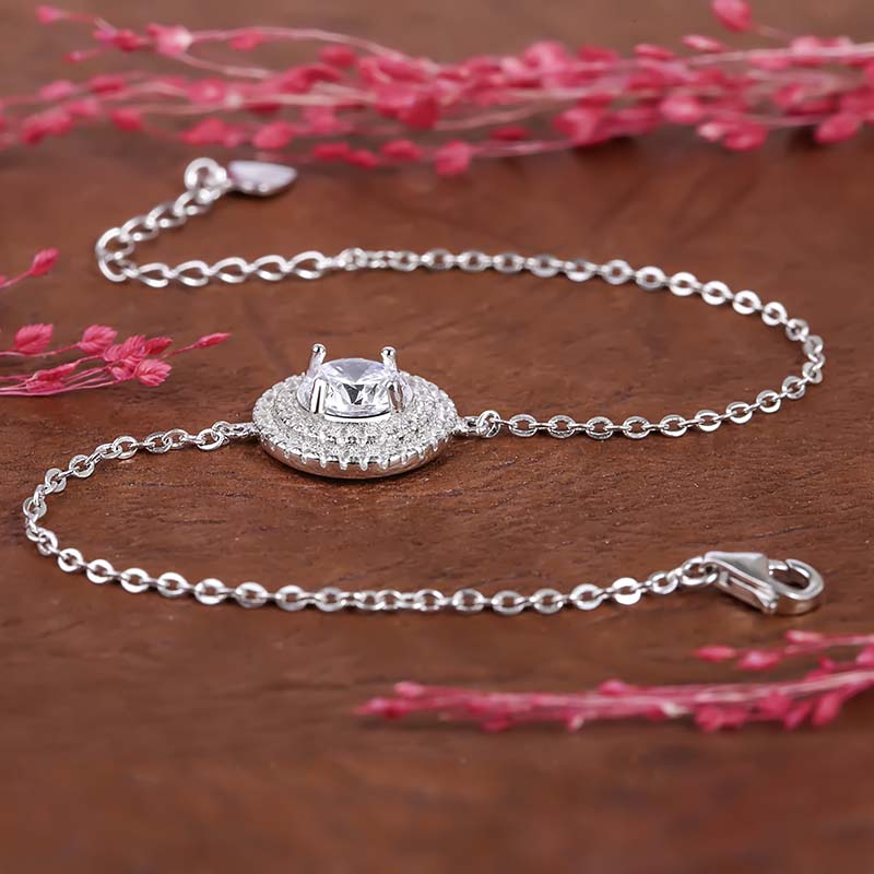 Lắc tay bạc Gragas Love