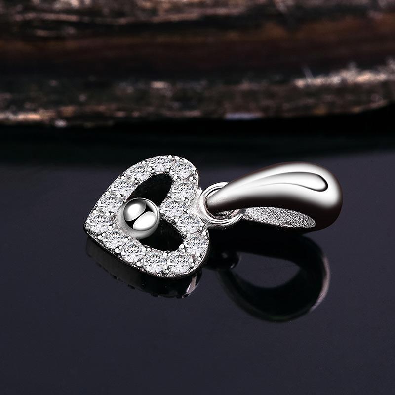 Mặt dây chuyền bạc Aladin Heart