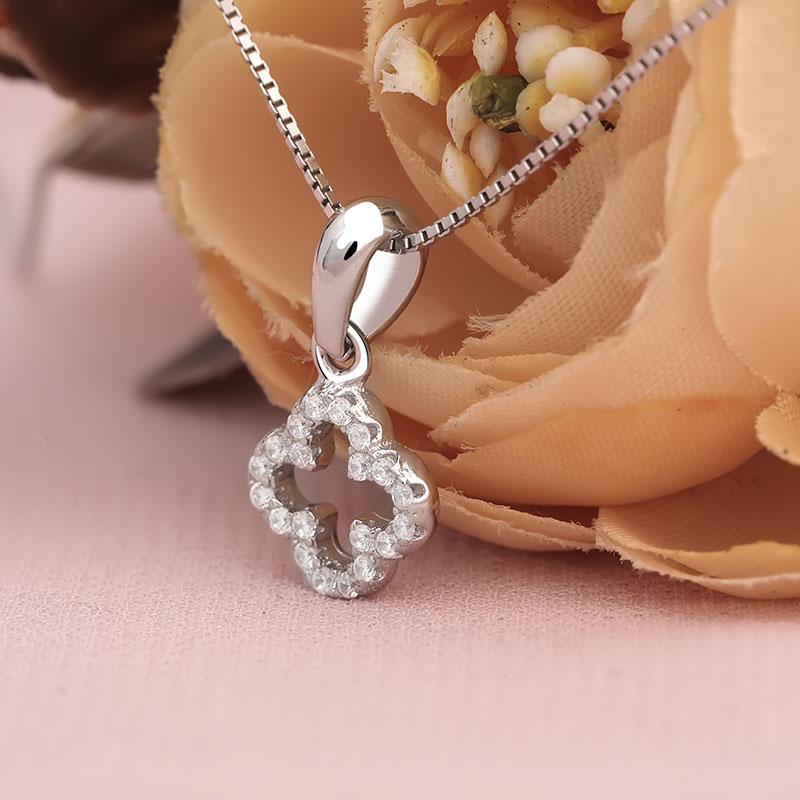 Mặt dây chuyền bạc Belinda Flower