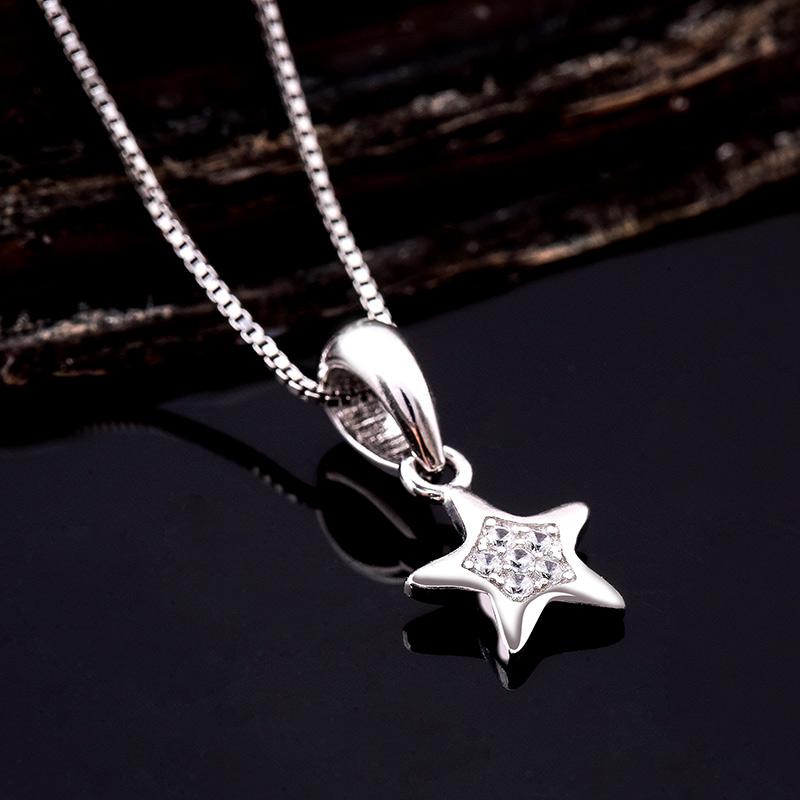 Mặt dây chuyền bạc Isaac Star