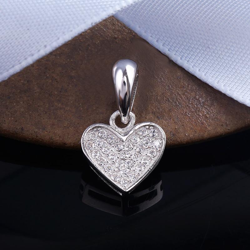 Mặt dây chuyền bạc Lena Heart