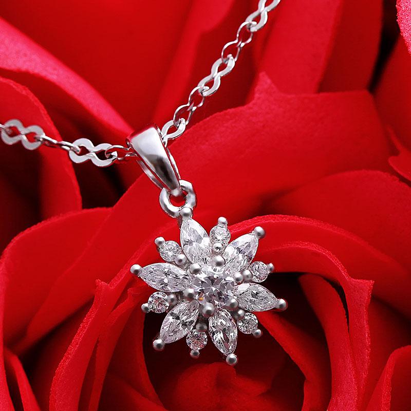 Mặt dây chuyền bạc The Best Flower
