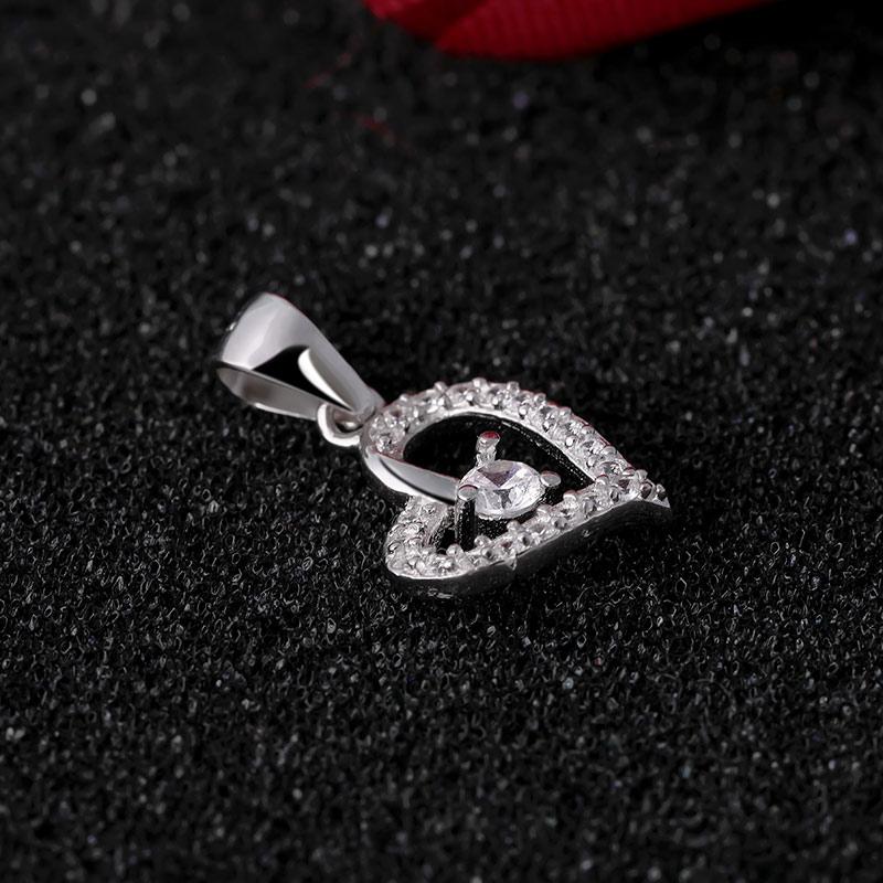 Mặt dây chuyền bạc The Heart - 4451462 , 102030012 , 249_102030012 , 251000 , Mat-day-chuyen-bac-The-Heart-249_102030012 , eropi.com , Mặt dây chuyền bạc The Heart