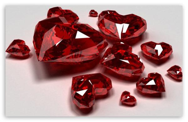 Điểm danh các loại đá quý màu đỏ