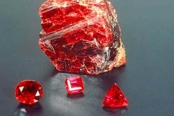 Hồng ngọc-Viên đá Ruby đỏ kỳ diệu