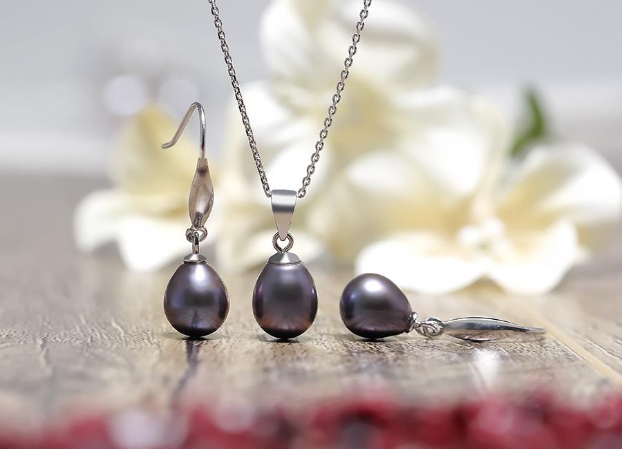 Bộ trang sức bạc