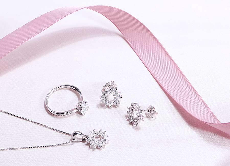 Bộ trang sức bạc Gift For You vô cùng đặc biệt
