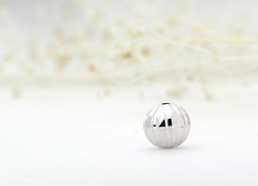 hạt charm bạc