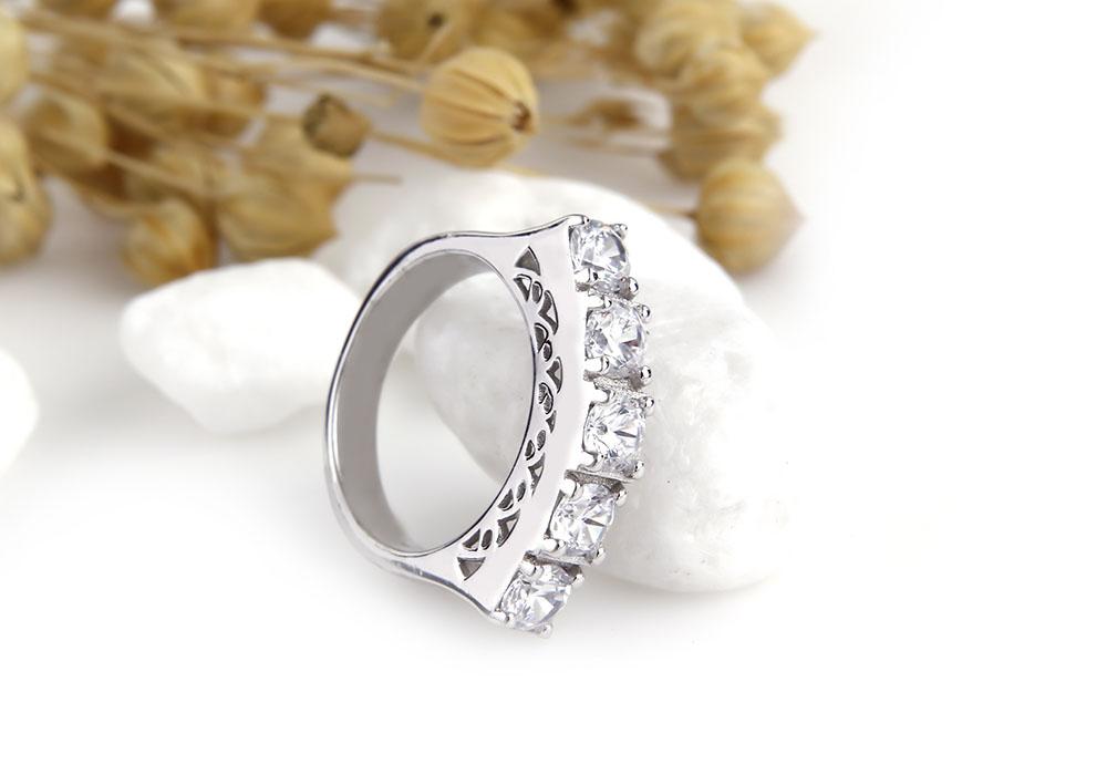 Thân nhẫn đeo kiểu dáng tròn