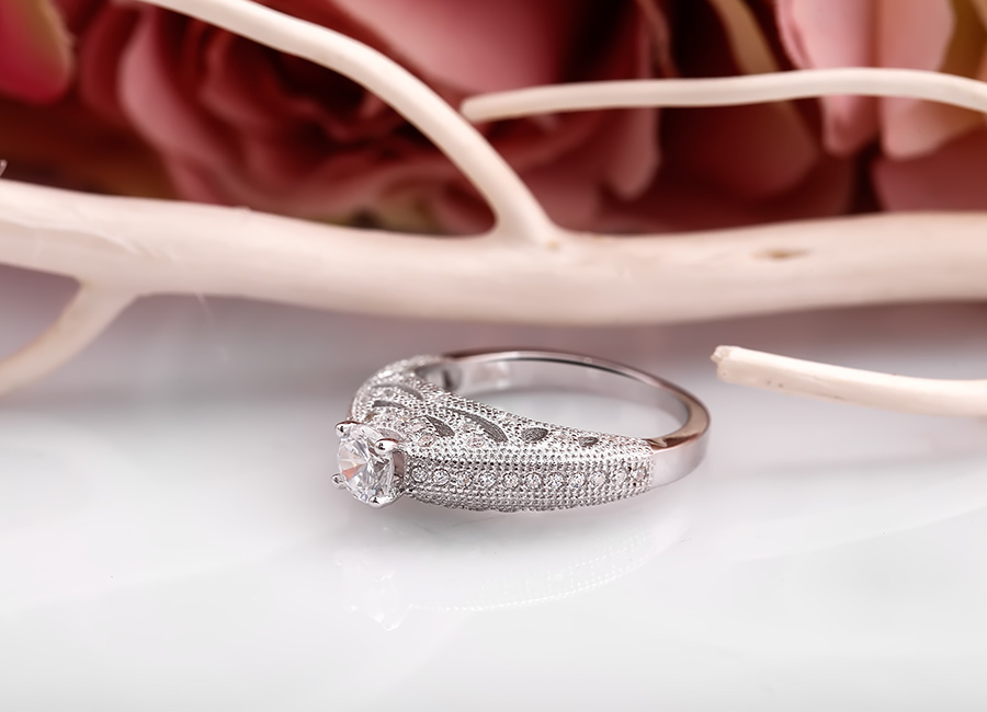 Mẫu trang sức bạc được nhận xét là tuyệt tác.