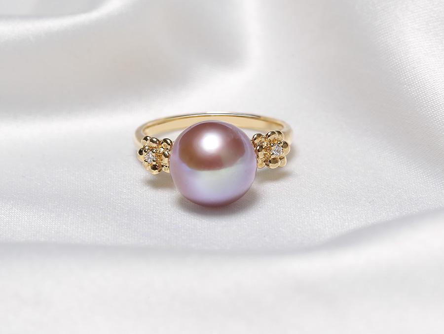"""Nhẫn vàng 18k ngọc trai thật Pipie được coi là """" nữ hoàng"""" trong bộ trang sức nhẫn"""