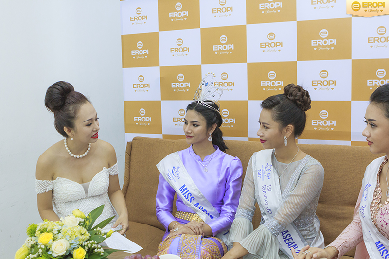 top 5 Hoa hậu Hữu nghị ASEAN 2017