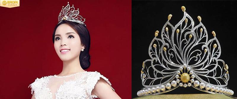 Vương miện hoa hậu Việt Nam qua các thời kỳ