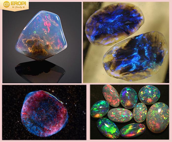 thẩm định giá trị của đá opal