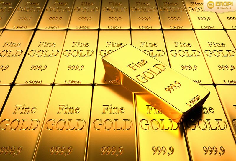 Vàng ta sở hữu màu vàng kim đậm.