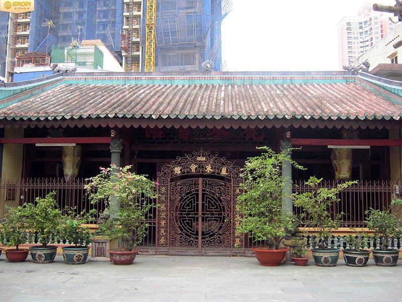 Lệ Châu Hội Quán tại thành phố Hồ Chí Minh hiện nay.