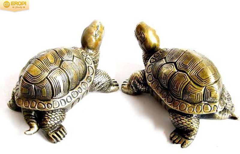 Linh vật Rùa trong phong thủy tượng trưng cho công thành danh toại.
