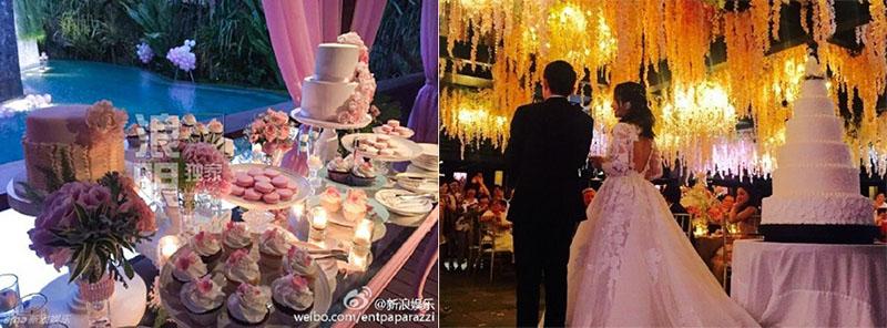 Những hình ảnh từ weibo cá nhân của các khách mời.