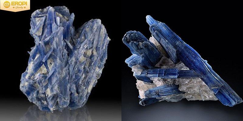 Đá Kyanite không có tính đẳng hướng, độ cứng thay đổi theo phương tinh thể