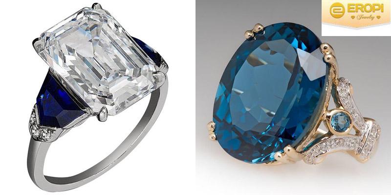 Đá Sapphire mang vẻ đẹp tinh tế, sang trọng.