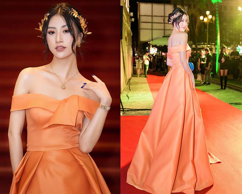 Quỳnh Anh Shyn với bộ trang sức hơn tỷ đi dự thảm đỏ Ngôi Sao Xanh.