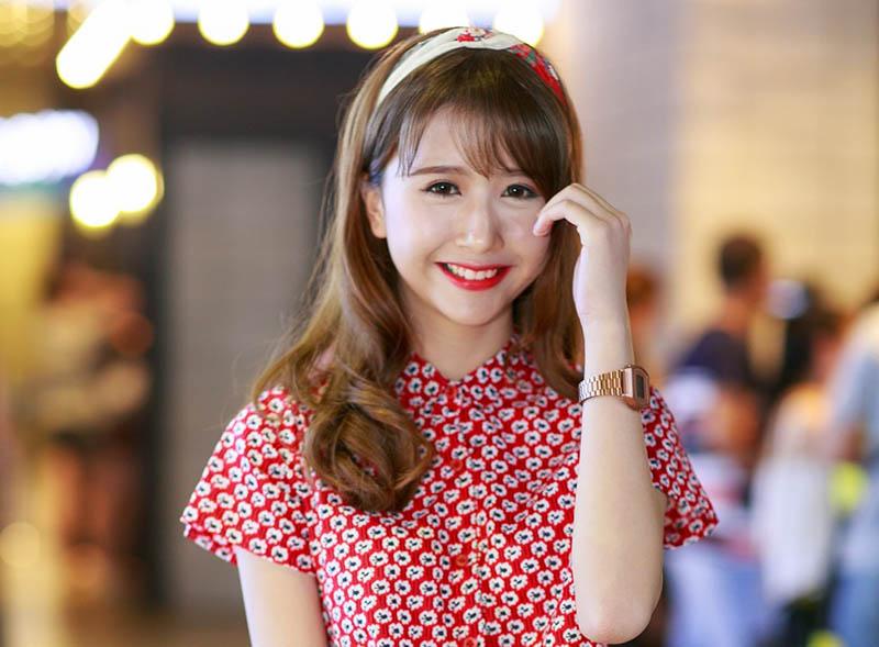 Hotgirl Quỳnh Anh Shyn - gương mặt xuất hiện trên nhiều tạp chí.