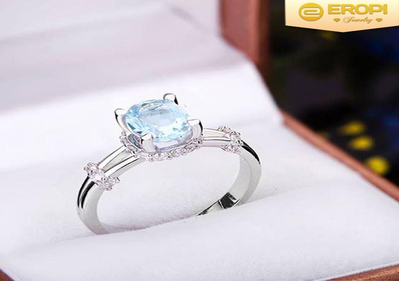 Sự kết hợp tuyệt hảo giữa bạch kim và những viên kim cương