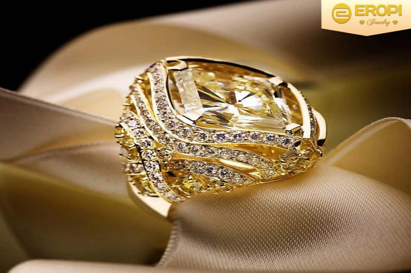 Trang sức bằng vàng với những nét rất sang