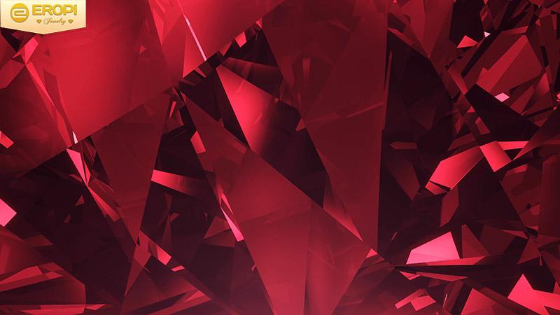 Màu đỏ của các loại đá quý luôn là màu sắc yêu thích của các nàng.