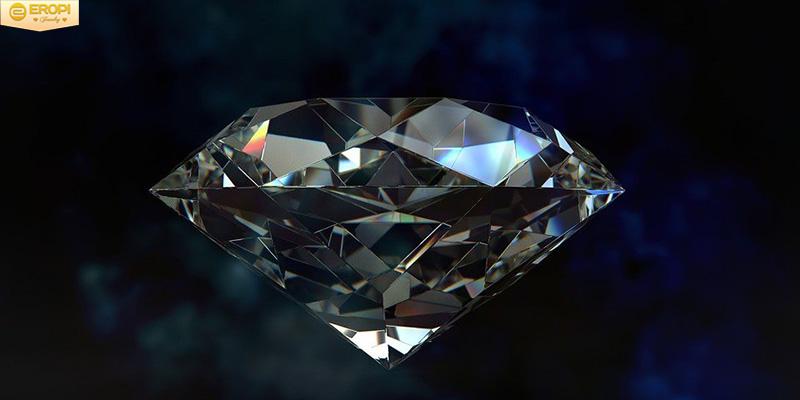 Hình ảnh cho một số viên kim cương đen.
