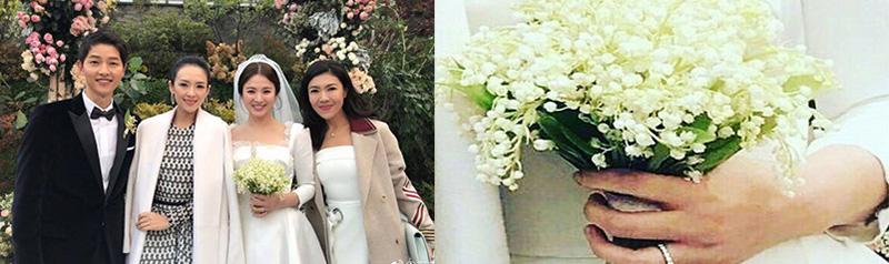 Song Hye Kyo cười ngọt ngào bên ông xã và bạn bè.