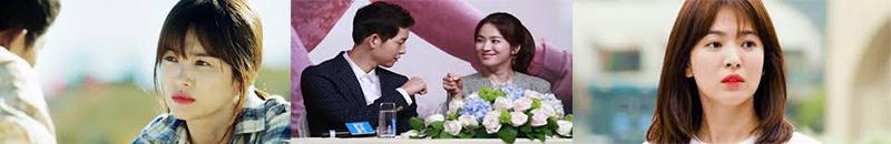 Từ một lần hợp tác trong Hâu Duệ mặt trời đến cái kết ngọt ngào của cặp đôi Song Joong ki và Song Hye Kyo.