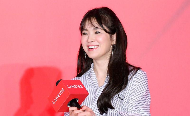 Ngọc nữ Song Hye Kyo của giới giải trí Hàn Quốc.