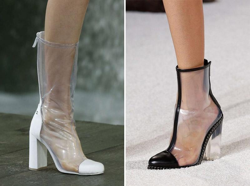 Những đôi boots thiết kế từ chất liệu nylon mang phong cách độc lạ.