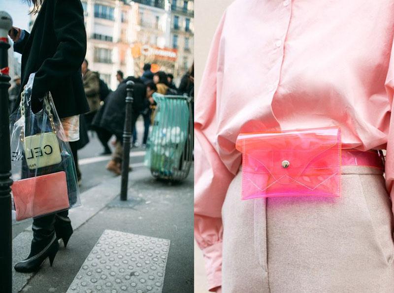 Chiếc clutch nhỏ xinh trong những thiết kế tui nylon.