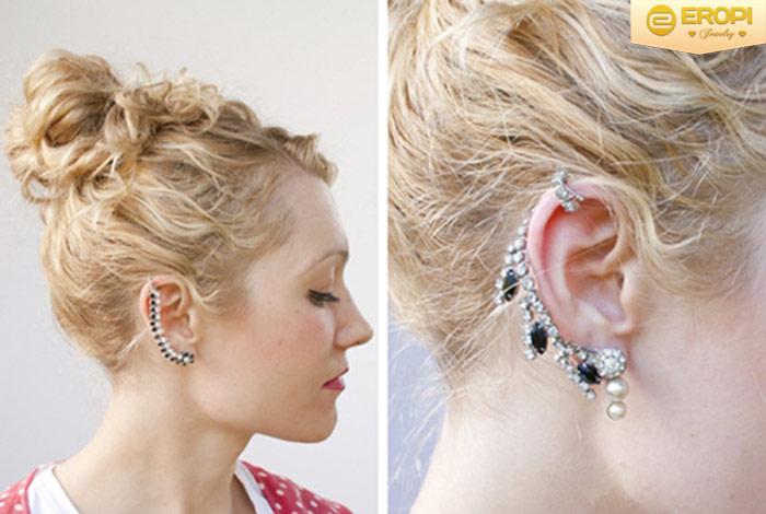 Búi cao tóc để lộ sự đặc biệt nơi vùng tai của bạn