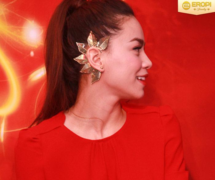 Các sao yêu thích kiểu đeo bông tai ear cuff
