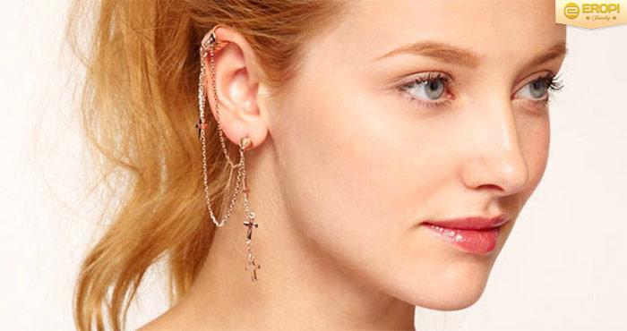 Thử nghiệm ngay kiểu đeo Ear Cuff này bạn nhé.